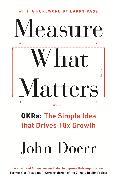 Cover-Bild zu Measure What Matters (eBook) von Doerr, John
