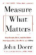 Cover-Bild zu Measure What Matters von Doerr, John