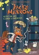 Cover-Bild zu Biermann, Franziska: Jacky Marrone rettet die drei kleinen Schweinchen