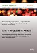 Cover-Bild zu Methods for Stakeholder Analysis von Kimmich, Christian