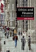 Cover-Bild zu Ethics and Finance von Hendry, John