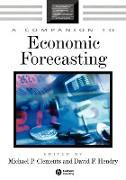 Cover-Bild zu COMP TO ECON FORECASTING von Clements Hend