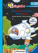 Cover-Bild zu Besuch aus dem Weltraum - Leserabe 2. Klasse - Erstlesebuch für Kinder ab 7 Jahren von Petrowitz, Michael