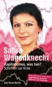 Cover-Bild zu Kapitalismus, was tun? von Wagenknecht, Sahra