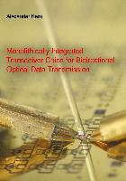 Cover-Bild zu Monolithically Integrated Transceiver Chips for Bidirectional Optical Data Transmission von Kern, Alexander