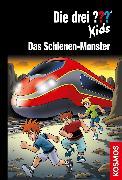 Cover-Bild zu Die drei ??? Kids, 74, Schienen-Monster (drei Fragezeichen Kids) (eBook) von Pfeiffer, Boris