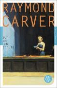 Cover-Bild zu Von wo ich anrufe von Carver, Raymond