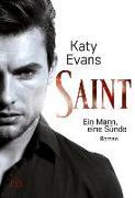 Cover-Bild zu Saint - Ein Mann, eine Sünde von Evans, Katy
