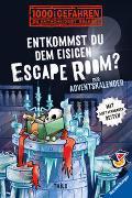 Cover-Bild zu Das Adventskalender-Abenteuer mit 1000 Gefahren in einem Escape Room aus purem Eis!