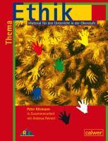 Cover-Bild zu Thema Ethik Material für den Unterricht in der Oberstufe von Kliemann, Peter