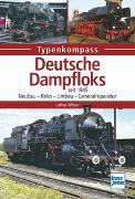 Cover-Bild zu Deutsche Dampfloks von Weber, Lothar