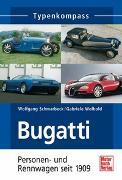 Cover-Bild zu Bugatti von Schmarbeck, Wolfgang