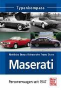 Cover-Bild zu Maserati von Braun, Matthias