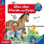 Cover-Bild zu Wieso? Weshalb? Warum? Alles über Pferde und Ponys. CD von Eberhard, Irmgard (Illustr.)