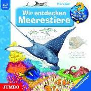 Cover-Bild zu Wir entdecken Meerestiere von Ebert, Andrea