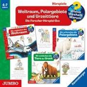 Cover-Bild zu Weltraum, Polargebiete und Urzeittiere von Menrad, Karl (Gelesen)