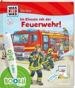Cover-Bild zu BOOKii® WAS IST WAS Junior Im Einsatz mit der Feuerwehr! von Braun, Christina