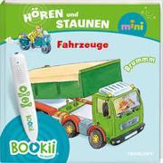 Cover-Bild zu BOOKii® Hören und Staunen Mini Fahrzeuge von Wenzel, Ida