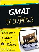Cover-Bild zu GMAT For Dummies, Premier (eBook) von Zimmer Hatch, Lisa