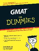 Cover-Bild zu GMAT For Dummies (eBook) von Hatch, Scott A.