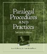 Cover-Bild zu Paralegal Procedures and Practices von Hatch, Scott