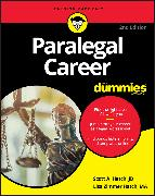 Cover-Bild zu Paralegal Career For Dummies (eBook) von Hatch, Scott A.