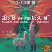 Cover-Bild zu Geister sind unser Geschäft von Scheerer, Jana