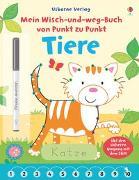 Cover-Bild zu Mein Wisch-und-weg-Buch von Punkt zu Punkt: Tiere von Greenwell, Jessica