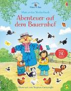 Cover-Bild zu Nina und Jan - Mein erstes Stickerbuch: Abenteuer auf dem Bauernhof von Greenwell, Jessica