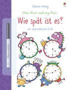 Cover-Bild zu Mein Wisch-und-weg-Buch: Wie spät ist es? von Greenwell, Jessica