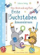 Cover-Bild zu Mein Wisch-und-weg-Buch: Erste Buchstaben kennenlernen von Greenwell, Jessica