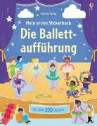 Cover-Bild zu Mein erstes Stickerbuch: Die Ballettaufführung von Greenwell, Jessica