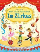 Cover-Bild zu Mein erstes Stickerbuch: Im Zirkus von Greenwell, Jessica