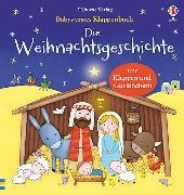 Cover-Bild zu Babys erstes Klappenbuch: Die Weihnachtsgeschichte von Greenwell, Jessica