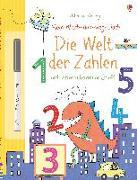 Cover-Bild zu Mein Wisch-und-weg-Buch: Die Welt der Zahlen von Greenwell, Jessica