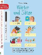 Cover-Bild zu Mein Wisch-und-weg-Lernspaß: Wörter und Sätze (1. Klasse) von Greenwell, Jessica