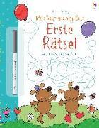 Cover-Bild zu Mein Wisch-und-weg-Buch: Erste Rätsel von Greenwell, Jessica