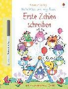 Cover-Bild zu Mein Wisch-und-weg-Buch: Erste Zahlen schreiben von Greenwell, Jessica