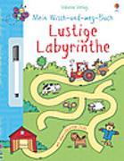 Cover-Bild zu Mein Wisch- und Weg- Buch: Lustige Labyrinthe von Greenwell, Jessica