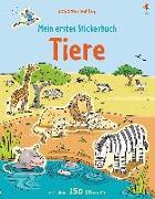 Cover-Bild zu Mein erstes Stickerbuch: Tiere von Greenwell, Jessica