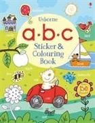 Cover-Bild zu ABC Sticker and Colouring Book von Greenwell, Jessica