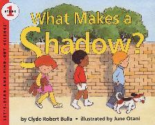 Cover-Bild zu What Makes a Shadow? von Bulla, Clyde Robert