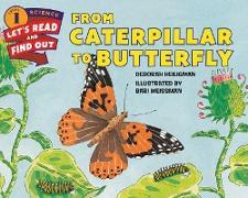 Cover-Bild zu From Caterpillar to Butterfly von Heiligman, Deborah