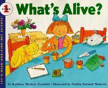 Cover-Bild zu What's Alive? von Zoehfeld, Kathleen Weidner