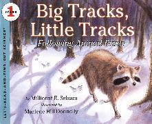 Cover-Bild zu Big Tracks, Little Tracks von Selsam, Millicent E.