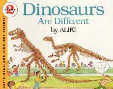 Cover-Bild zu Dinosaurs Are Different von Aliki