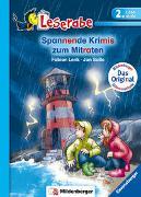 Cover-Bild zu Lenk, Fabian: Spannende Krimigeschichten zum Mitraten - Leserabe 2. Klasse - Erstlesebuch für Kinder ab 7 Jahren