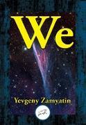 Cover-Bild zu We (eBook) von Zamyatin, Yevgeny