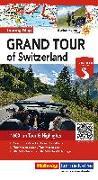 Cover-Bild zu Grand Tour of Switzerland Touring Map Strassenkarte 1:275 000. 1:275'000