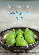 Cover-Bild zu Neu beginnen 2022 von Grün, Anselm